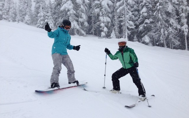 Working it in Whistler